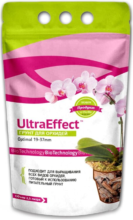 Грунт для орхидей UltraEffect - Optimal 19-37mm 2,5 литра
